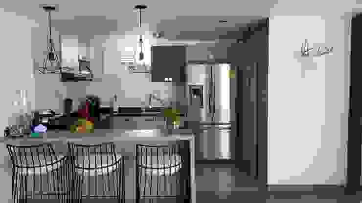 COCINA Cocinas de estilo minimalista de Par Arquitectura Minimalista