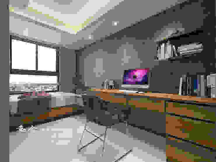 小孩房/書桌/天花板/大理石/現代風 根據 木博士團隊/動念室內設計制作 現代風