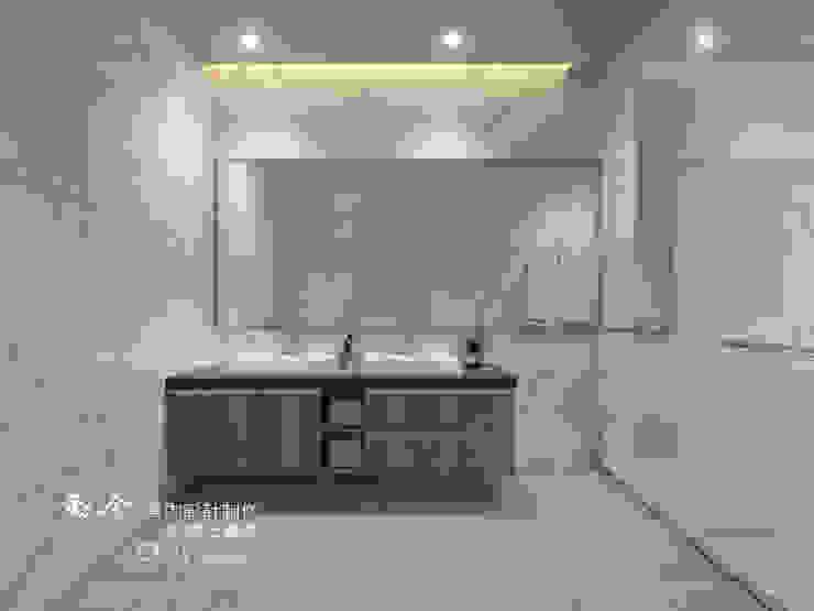 浴室/人造石/現代風 現代浴室設計點子、靈感&圖片 根據 木博士團隊/動念室內設計制作 現代風