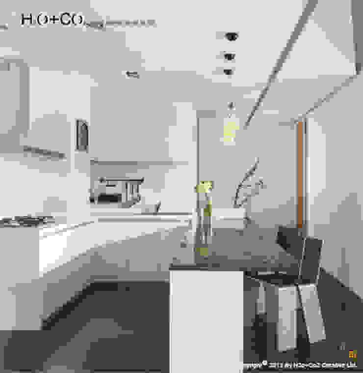 廚房與吧檯 根據 光合作用設計有限公司 現代風