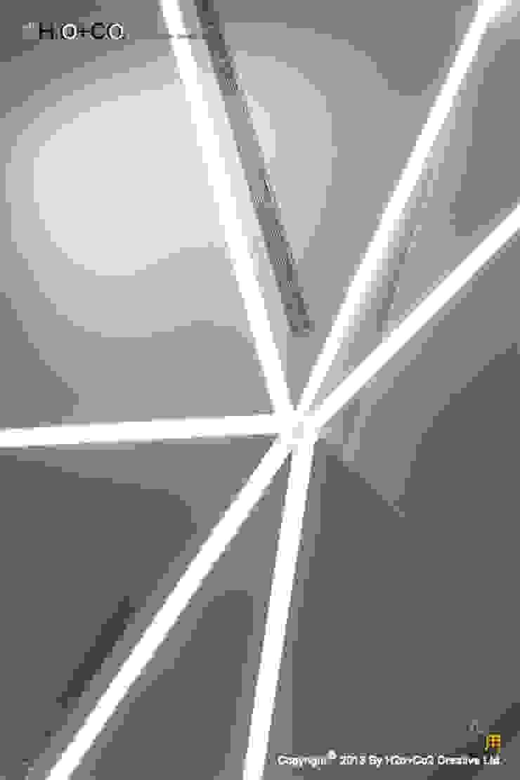 天花板設計 現代風玄關、走廊與階梯 根據 光合作用設計有限公司 現代風