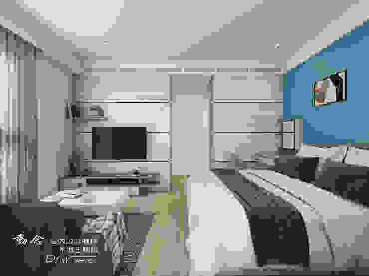 主臥/木地板/現代風 根據 木博士團隊/動念室內設計制作 現代風