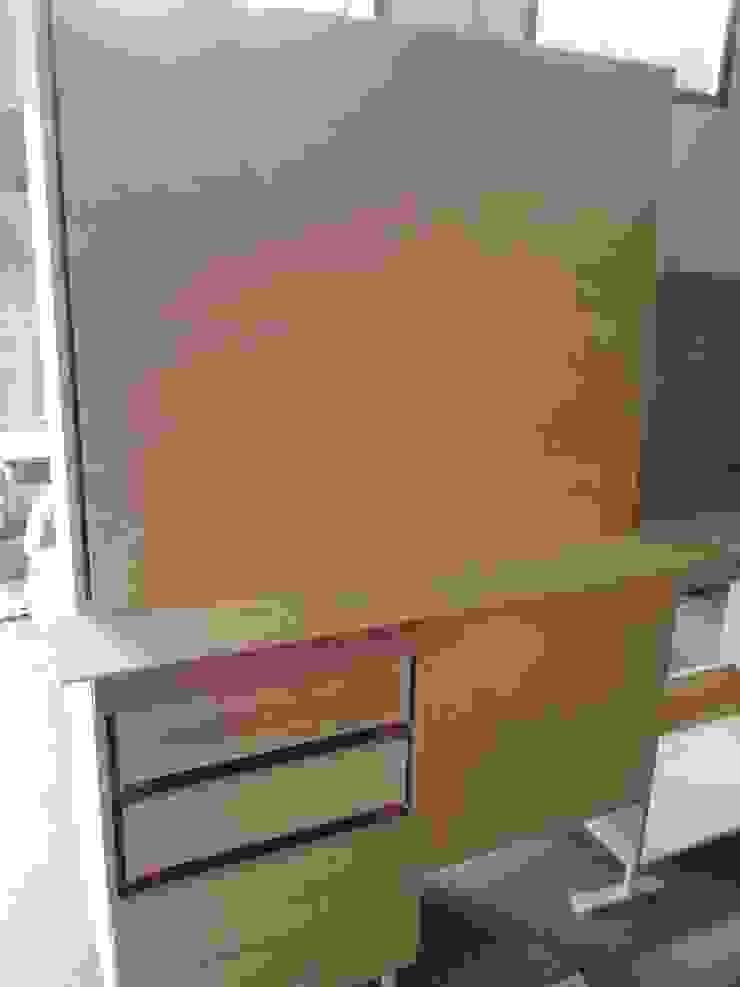 Dettaglio esecuzione cucina artigianale di antonio felicetti architettura & interior design Moderno