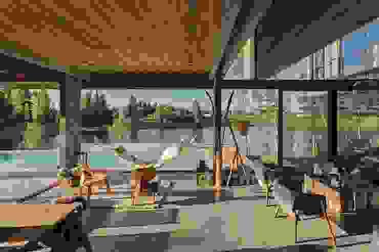 ATV Arquitectos Salones de estilo escandinavo