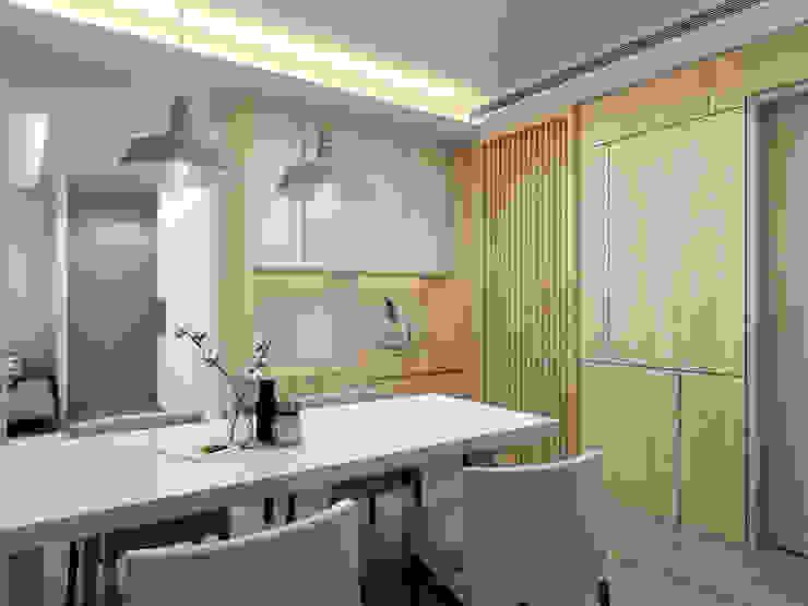 自然元素 | 北歐風格 根據 AAND Studio 一與設計 北歐風 木頭 Wood effect