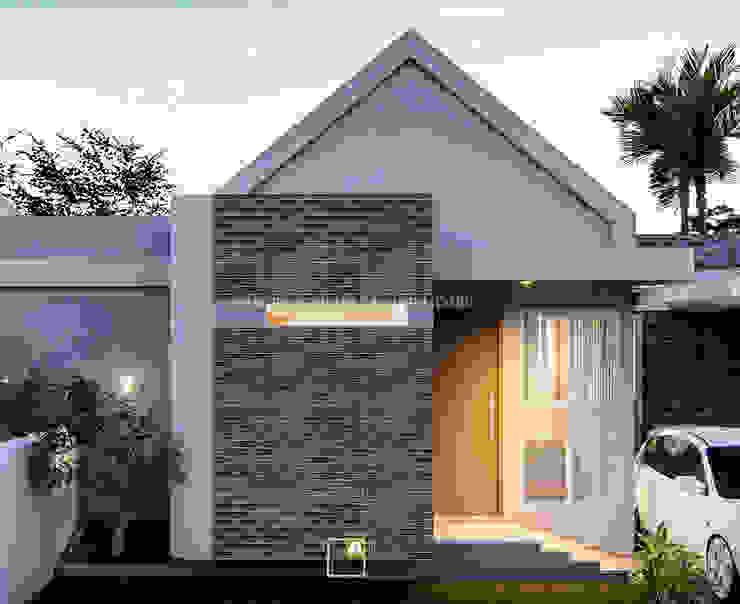 CLR Residence - Desain Perumahan Ibu Chaca - Manokwari, Papua Oleh Rancang Reka Ruang Modern Beton
