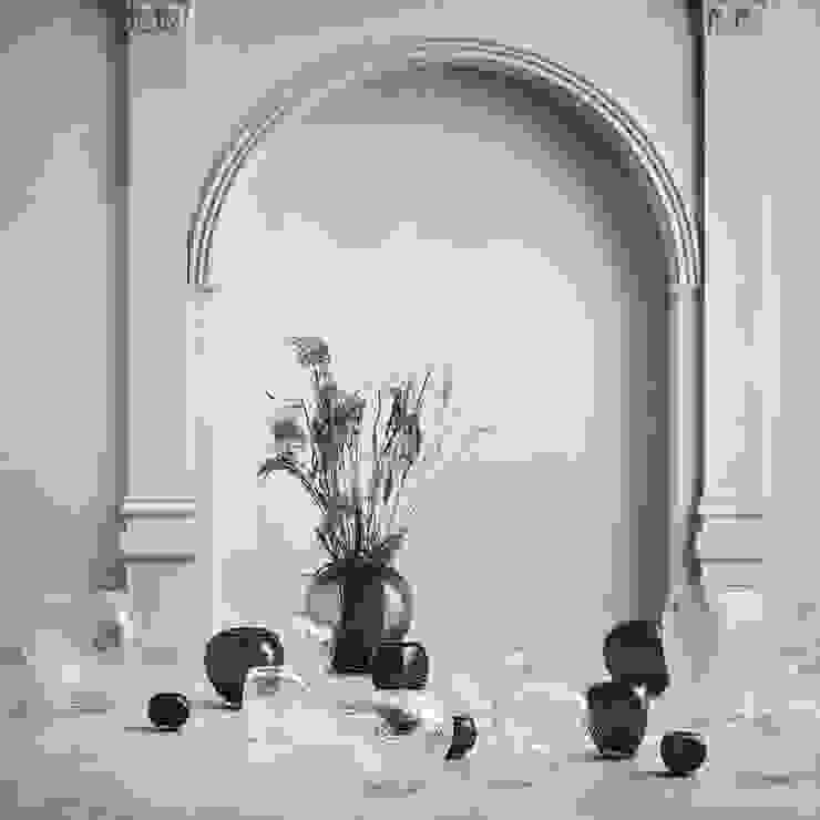 Jarrones Bramble Caltha Design Agency SalasAccesorios y decoración Vidrio Transparente