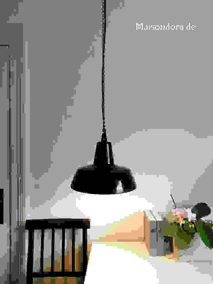 Maisondora Vintage Living CuisineEclairage Métal Noir