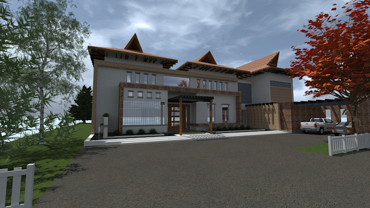 by ACE Arquitectura Diseño y Construcción Tropical Iron/Steel