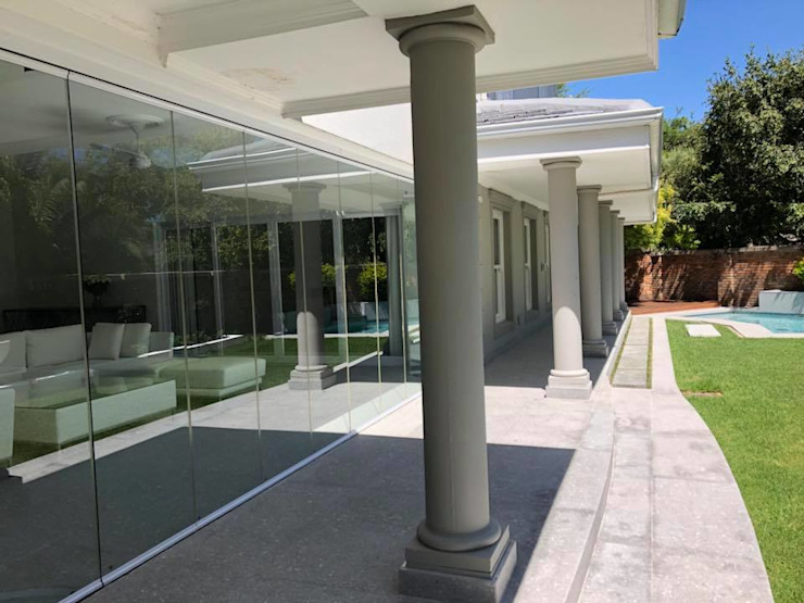 SimpliMation Pty Ltd Balcon, Veranda & Terrasse modernes