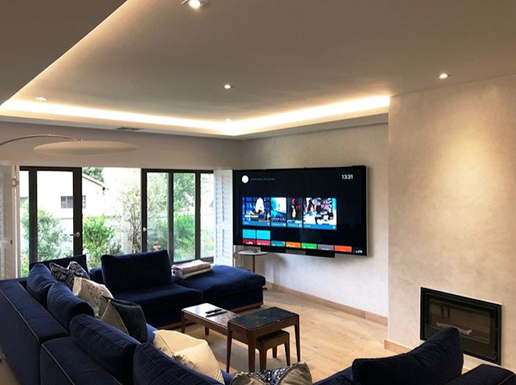 SimpliMation Pty Ltd Modern style media rooms