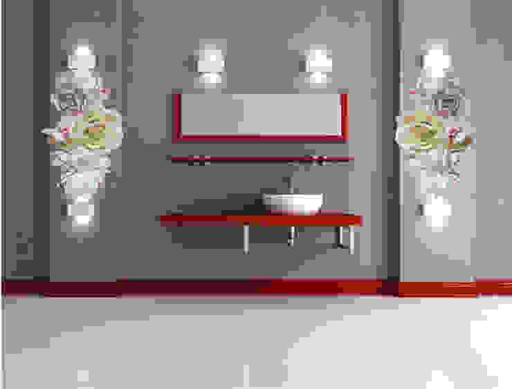 벽장식 에바폼 대형꽃 가랜드 스칸디나비아 벽지 & 바닥 by PoNa 북유럽 고무