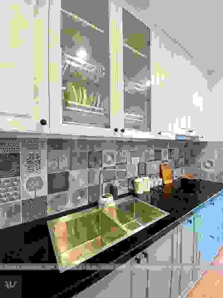 Dự án thiết kế nội thất căn hộ Bea Sky Nguyễn xiển 70m2 Nhà bếp phong cách hiện đại bởi Công ty nội thất ATZ LUXURY Hiện đại