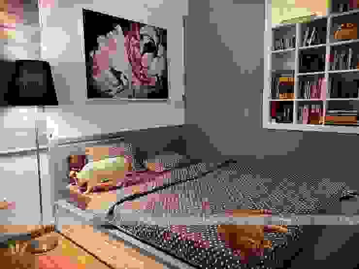 Dự án thiết kế nội thất căn hộ Bea Sky Nguyễn xiển 70m2 Phòng ngủ phong cách tối giản bởi Công ty nội thất ATZ LUXURY Tối giản