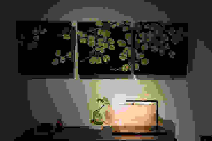 玄關 现代客厅設計點子、靈感 & 圖片 根據 璞爵設計Project Design 現代風
