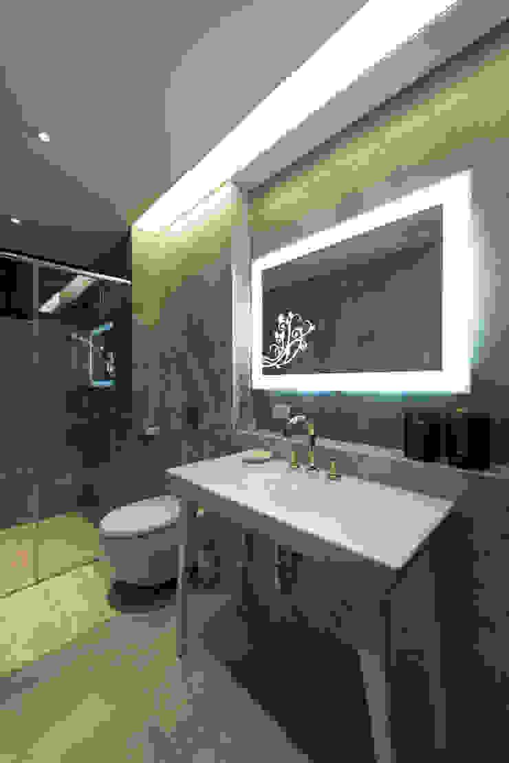 浴室 現代浴室設計點子、靈感&圖片 根據 璞爵設計Project Design 現代風
