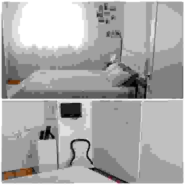 camera da letto Camera da letto moderna di FORMAstudio3 tecnico Moderno