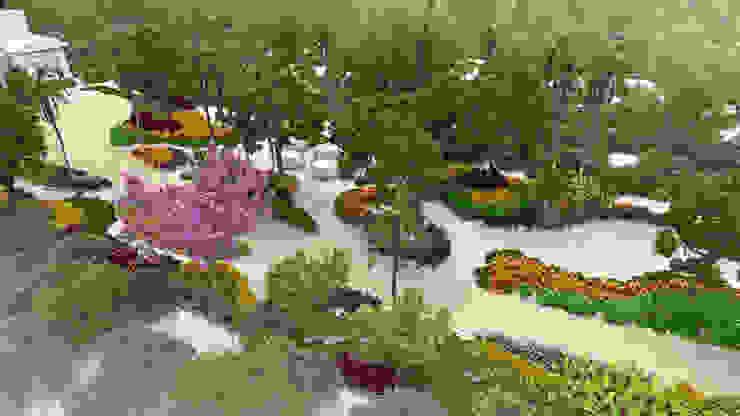 Propuesta de paisajismo en una residencia en Mahahual EcoEntorno Paisajismo Urbano