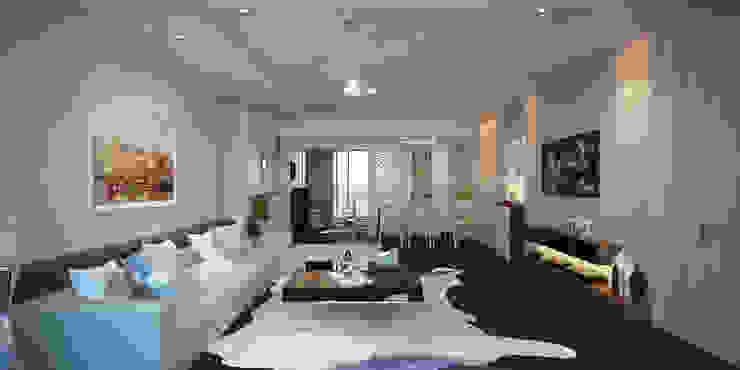 Thiết kế nội thất căn hộ Masteri quận 2- anh Chiến bởi AN PHÚ DESIGN & BUILD