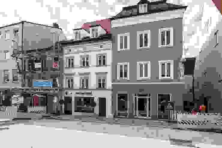 Fassade Fiedler + Partner Mehrfamilienhaus