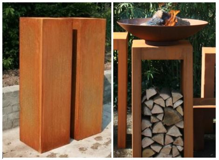 PRODUCTLAB Garden Accessories & decoration Iron/Steel Brown
