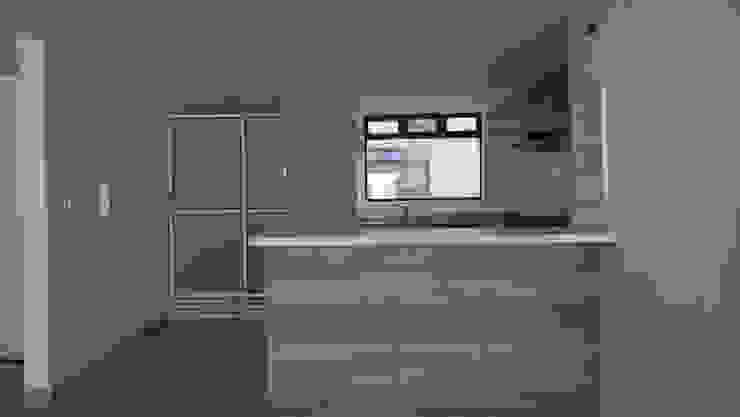 COCINA de A Urbano Construcciones S.A.S Moderno Compuestos de madera y plástico