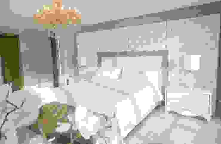 HABITACION PRINCIPAL Habitaciones modernas de Monica Saravia Moderno