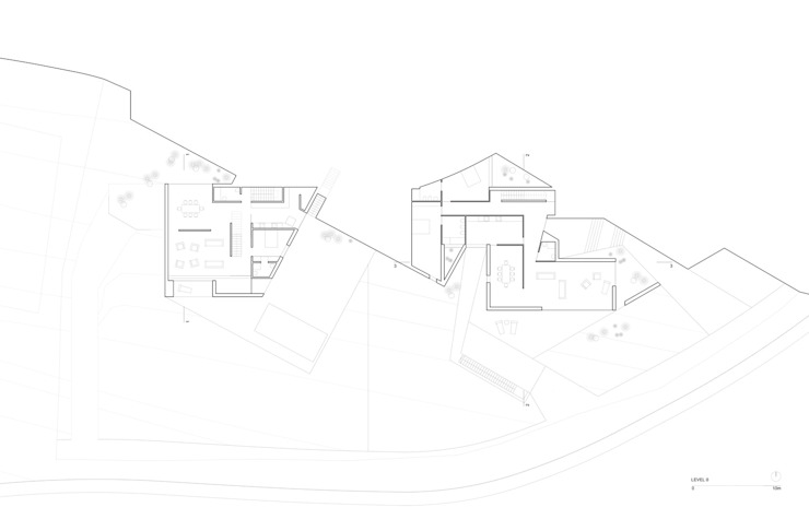 Planta do piso 0 AAP - ASSOCIATED ARCHITECTS PARTNERSHIP