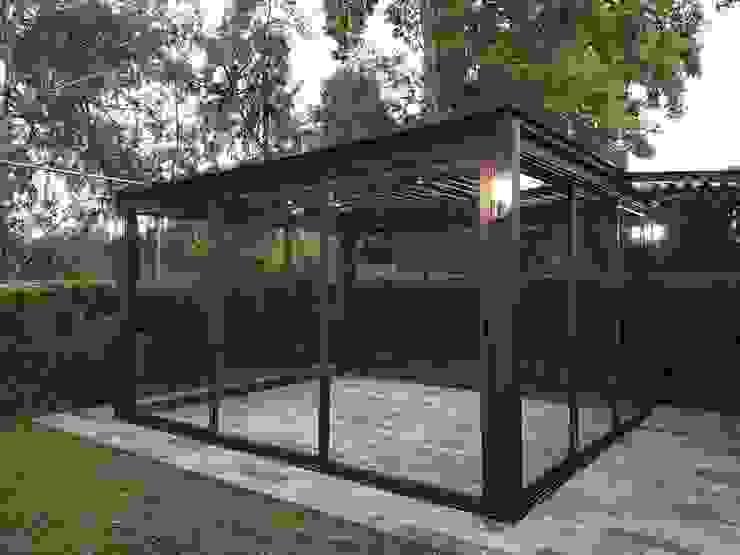 Casa Av Toluca Merkalum Quinchos Aluminio/Cinc Acabado en madera