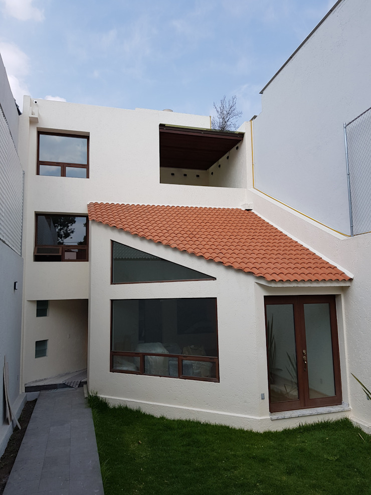 Merkalum Single family home Aluminium/Zinc Wood effect