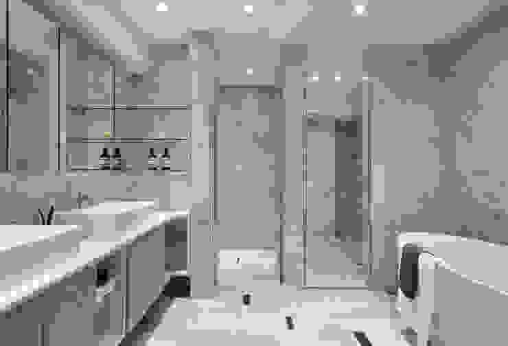 千綵胤空間設計 Modern bathroom