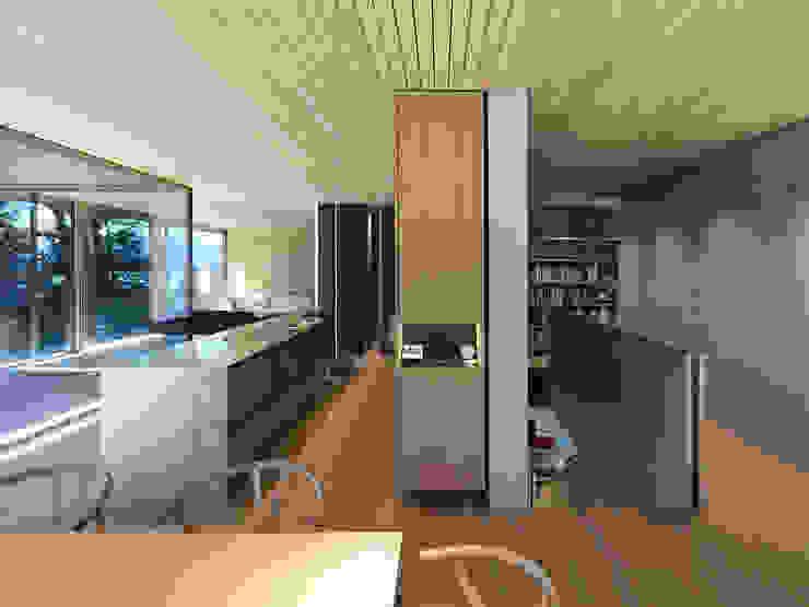 Dietrich   Untertrifaller Architekten ZT GmbH Modern Dining Room