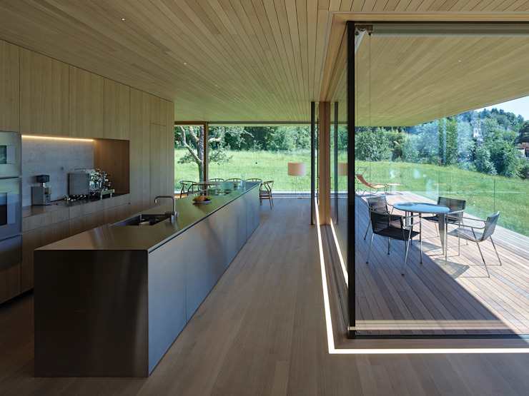 Dietrich   Untertrifaller Architekten ZT GmbH Modern Kitchen