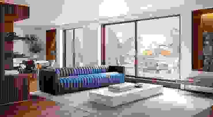Propriété Générale International Real Estate Ruang Keluarga Modern
