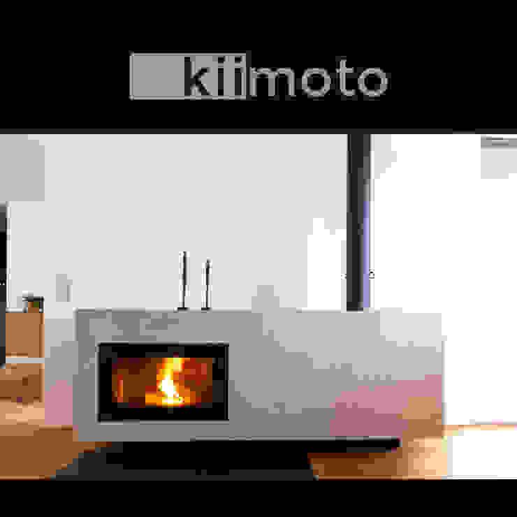 kiimoto kamine Living roomFireplaces & accessories Iron/Steel Brown