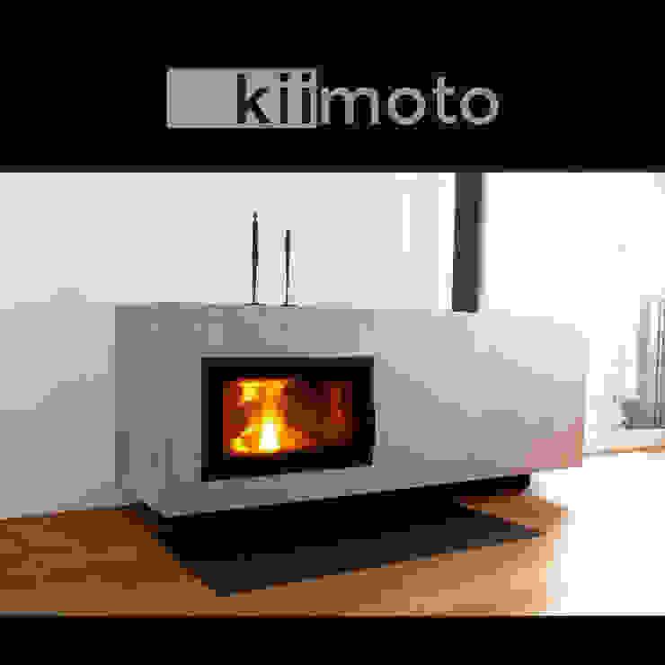 kiimoto kamine Living roomFireplaces & accessories Iron/Steel Beige