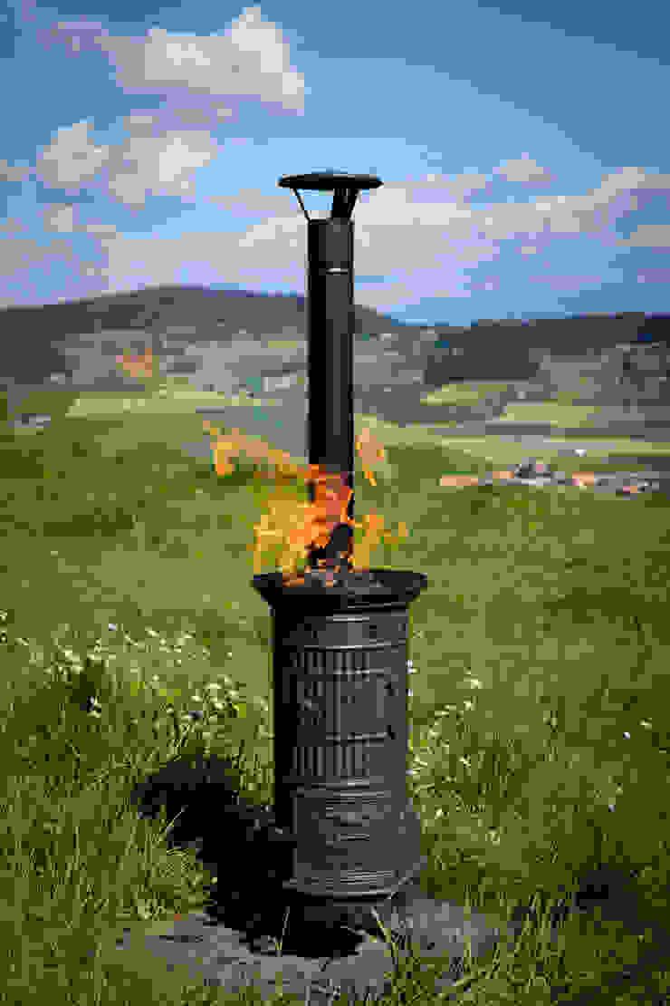 Perler Ofen GmbH بلكونة أو شرفة معدن Black