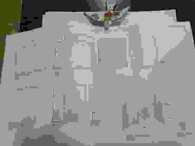 Carpintaria Senhora da Paz, Unipessoal Lda BedroomWardrobes & closets Kayu Lapis Wood effect
