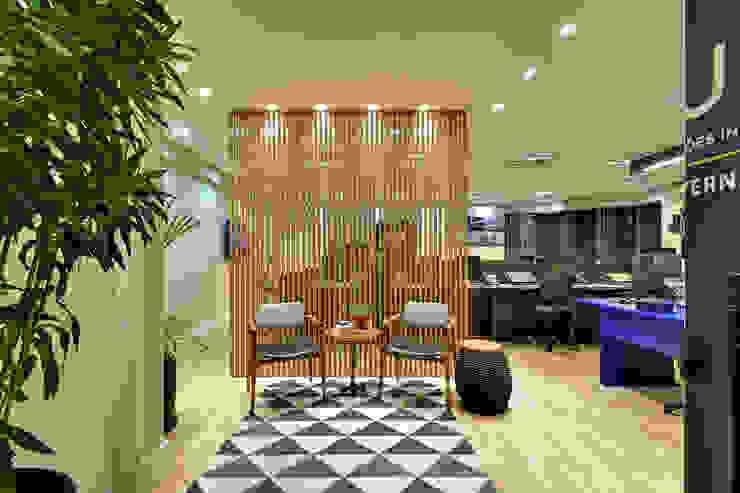 Escritório de Advocacia e Relações Institucionais AVR Studio Arquitetura Edifícios comerciais modernos MDF Cinza