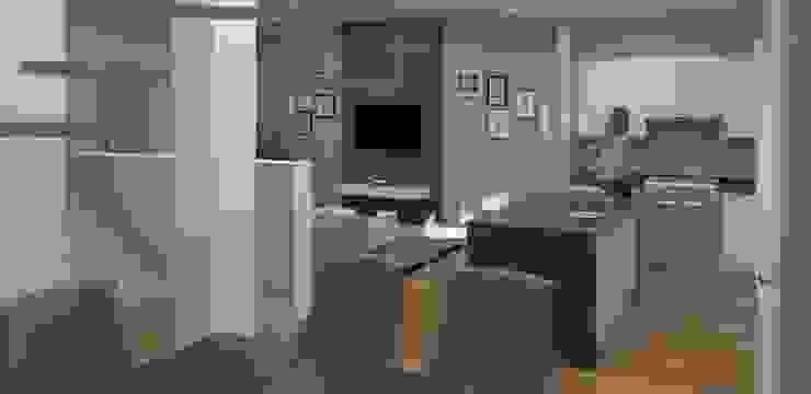 Victor Gutierrez Arquitecto Modern living room