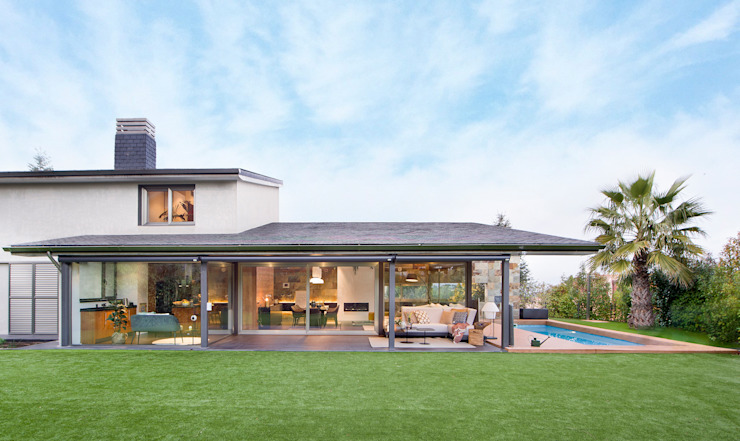 Casas modernas de Egue y Seta Moderno