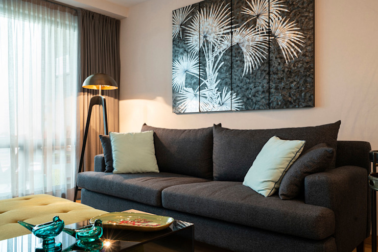 Modern Living Room by Çiğdem Demirhan Mimarlık ve Tasarım Modern