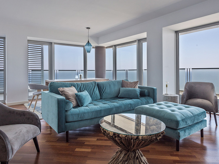 Kave Home Mediterranean style living room