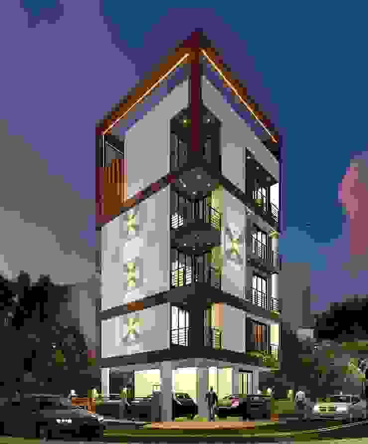 PROPOSED RESIDENTIAL BUILDING AT PLOT NO.56I, SECTOR-50E, NERUL, NAVI MUMBAI disha architects