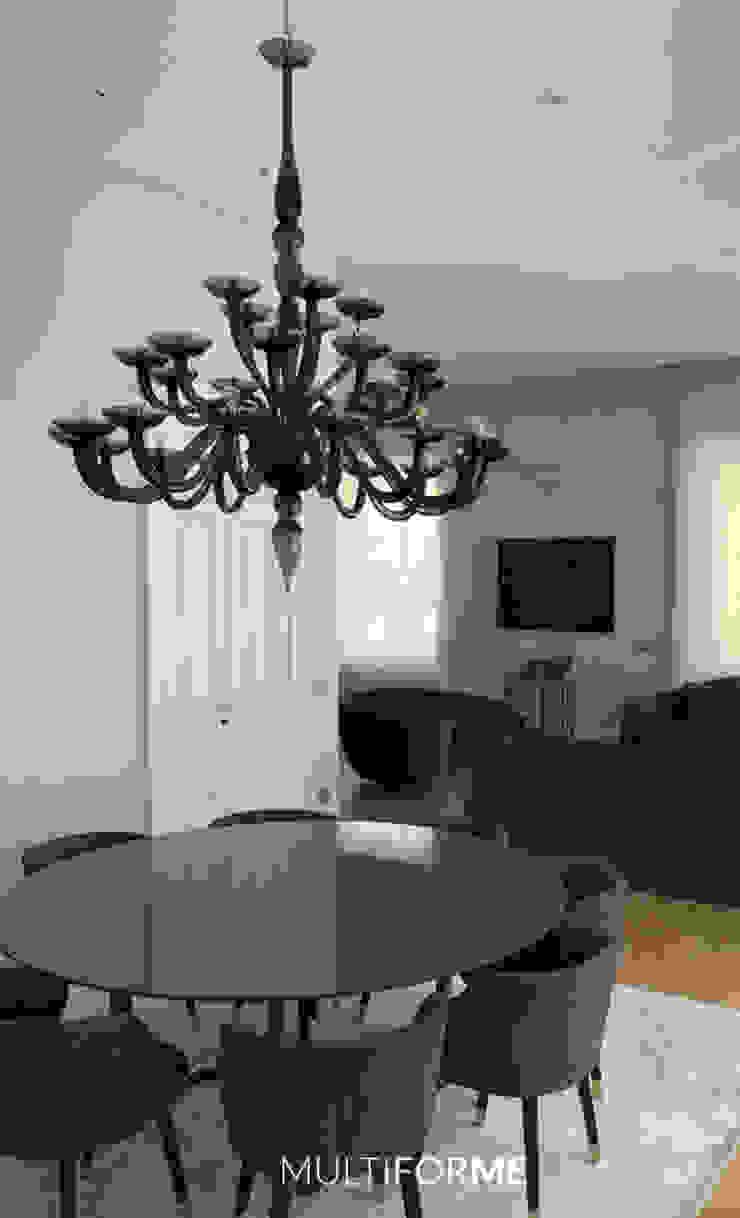 Comedores de estilo moderno de MULTIFORME® lighting Moderno