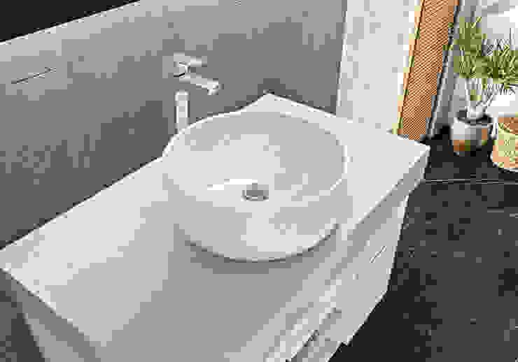 HELVEX SA DE CV Salle de bainLavabos Céramique Blanc