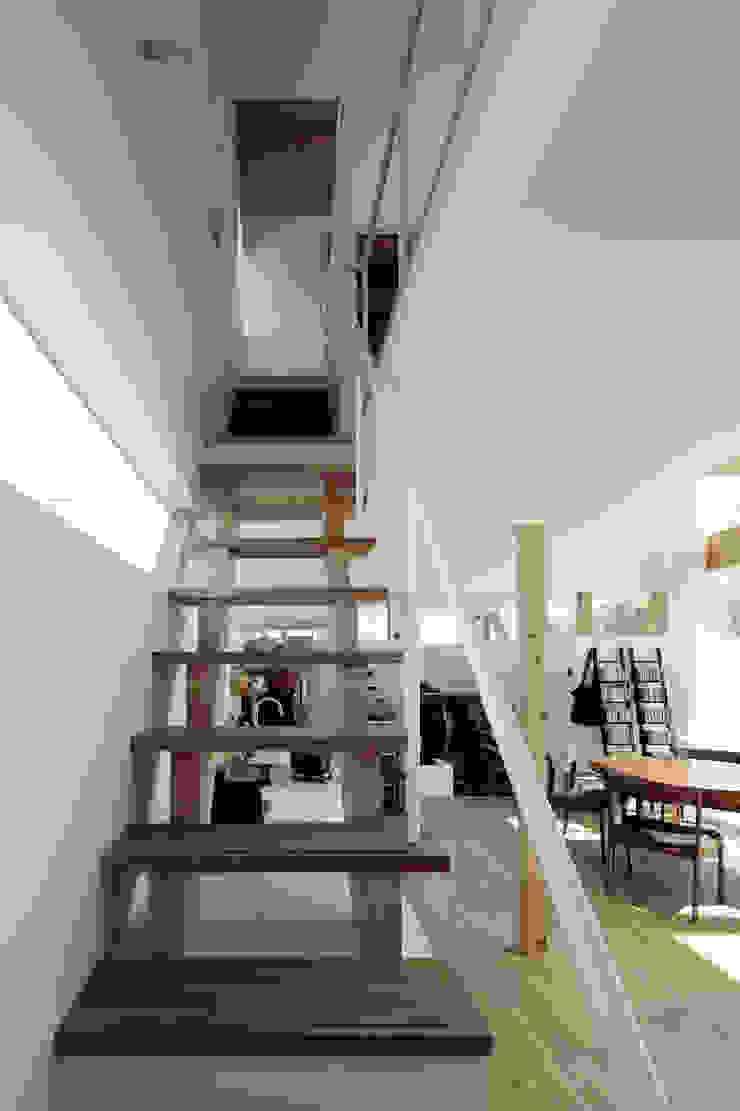 おやまだいのいえ 國分大輔建築設計事務所 階段 木材・プラスチック複合ボード