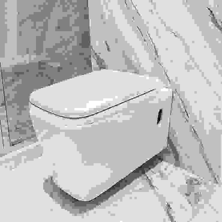 COVAM BathroomFittings Ceramic White