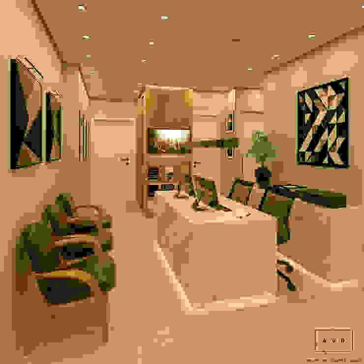 Clínica Odontológica AVR Studio Arquitetura Clínicas modernas