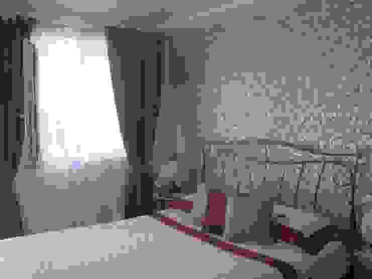 Fanchini Roberto architetto - Archifaro غرفة نومأسرة نوم